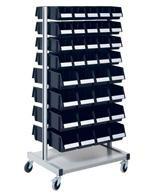 ESD Stojany / vozíky na skladovací boxy