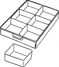 ESD Volné vložky do zásuvky velikost 2.1