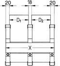 ESD Hliníkové kolejnice 180er-Serie