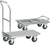 ESD Skládací hliníkový vozík