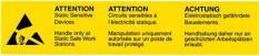 Samolepící etikety - ESD Výstraha