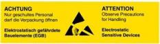Samolepící etikety - Pokyny pro personál