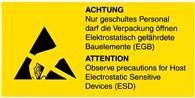 Samolepící etikety - Poučení personálu