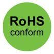 """Samolepící etikety """"RoHS"""""""