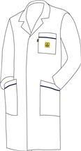 ESD Plášť WhiteLine WL-180