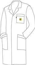 ESD Plášť WhiteLine WL-185
