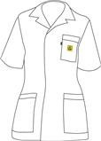 ESD Plášť WhiteLineWoman WLW-175