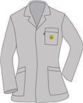 ESD Plášť GreyLineWoman GLW-175