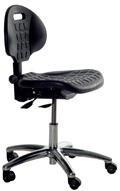 ESD Otočná židle INDUSTRIAL PU-CHAIR