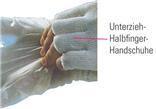 ESD Bezprstové rukavice