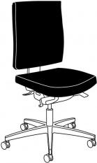 ESD Otočná židle LINEA komfort I.
