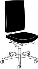ESD Otočná židle LINEA komfort II.
