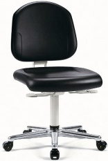 ESD Otočná židle II. Reinraum-Plus 2