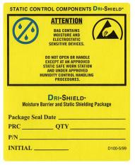 Samolepící etikety - Výstraha  EIA 583