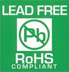 Samolepící etiketa - RoHS