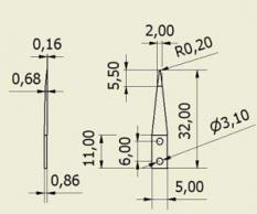 Výměnné hroty High Precision Sharp