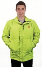 ESD Softshellová bunda v signalizačních barvách