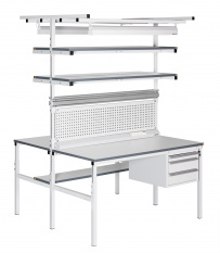 ESD Pracovní stoly OSTROV