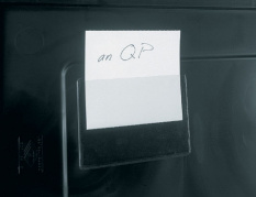 Transparentní držák na etikety IDP-STAT