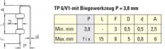 Doplňující ohýbací nástroj P = 3.8 mm