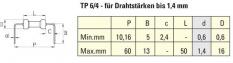 TP 6 / 4 • TP 6 / 4.97 vyztužené ohýbací kolo